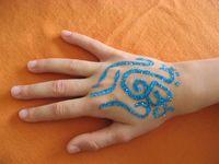 Tattoo paillettes 1